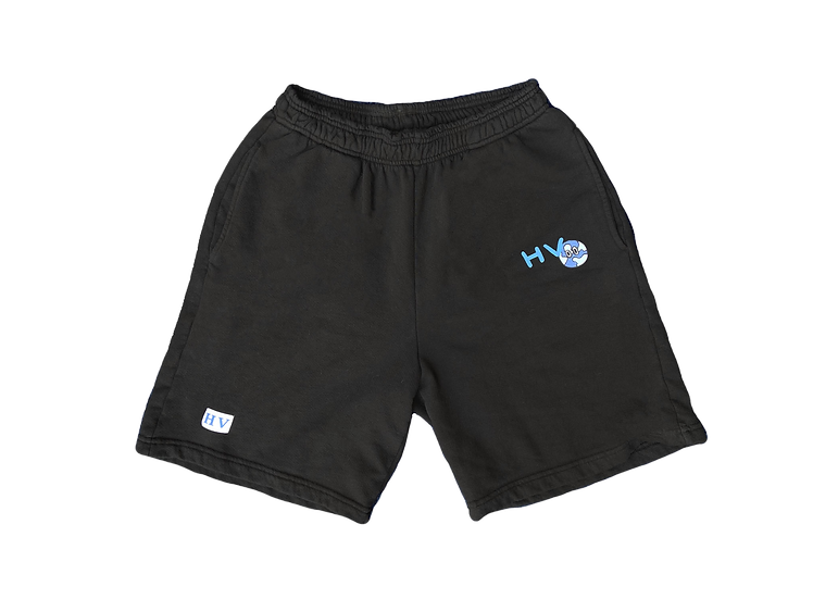 Black Global Shorts