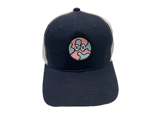 Pink Global Trucker Hat