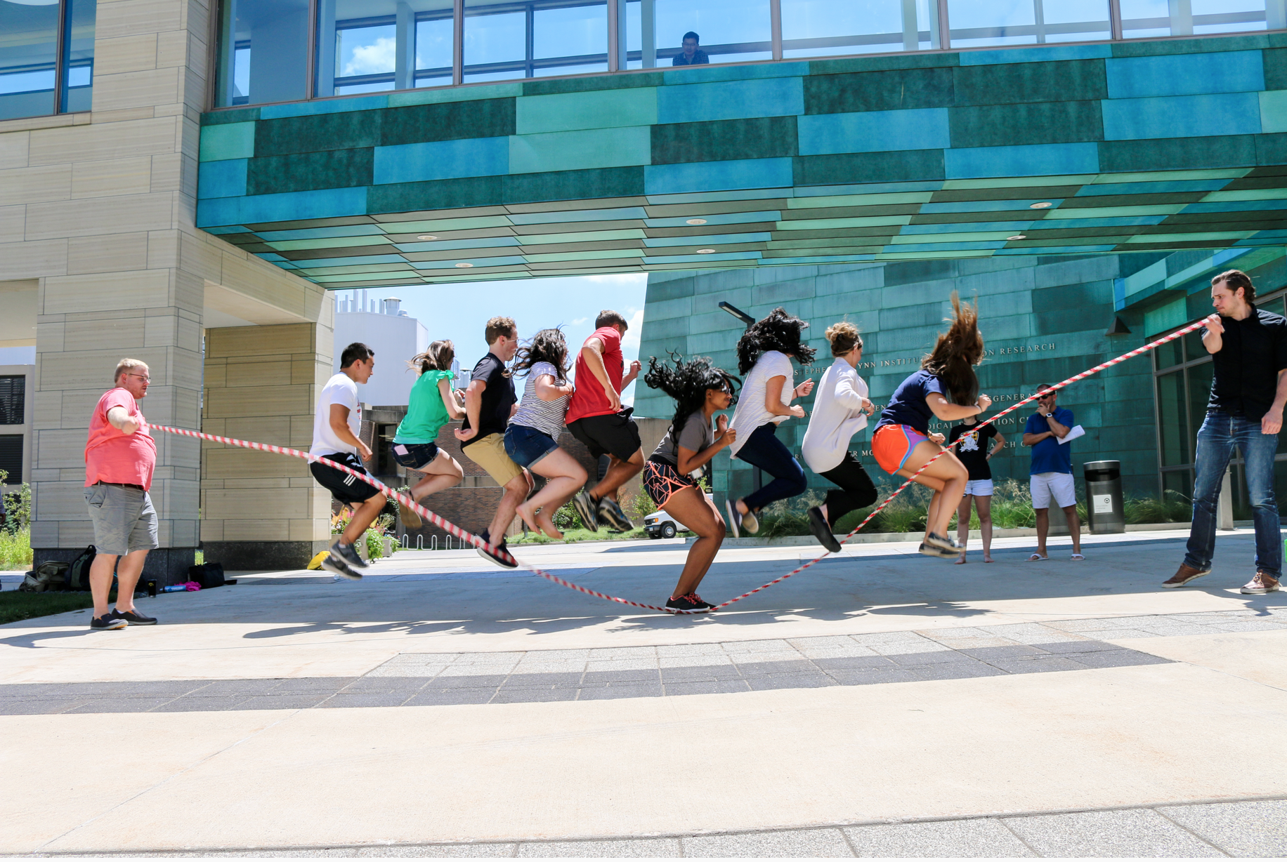 Jump Rope at Carver Medical Building