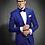 Thumbnail: Slim Fit Men Suits Latest Coat Pant Design Tuxedos  (JACKET+PANTS)