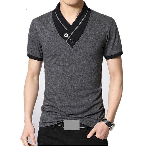 Men's Patchwork T-shirt  Size