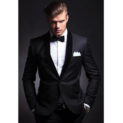 Slim Fit Men Suits Latest Coat Pant Design Tuxedos  (JACKET+PANTS)