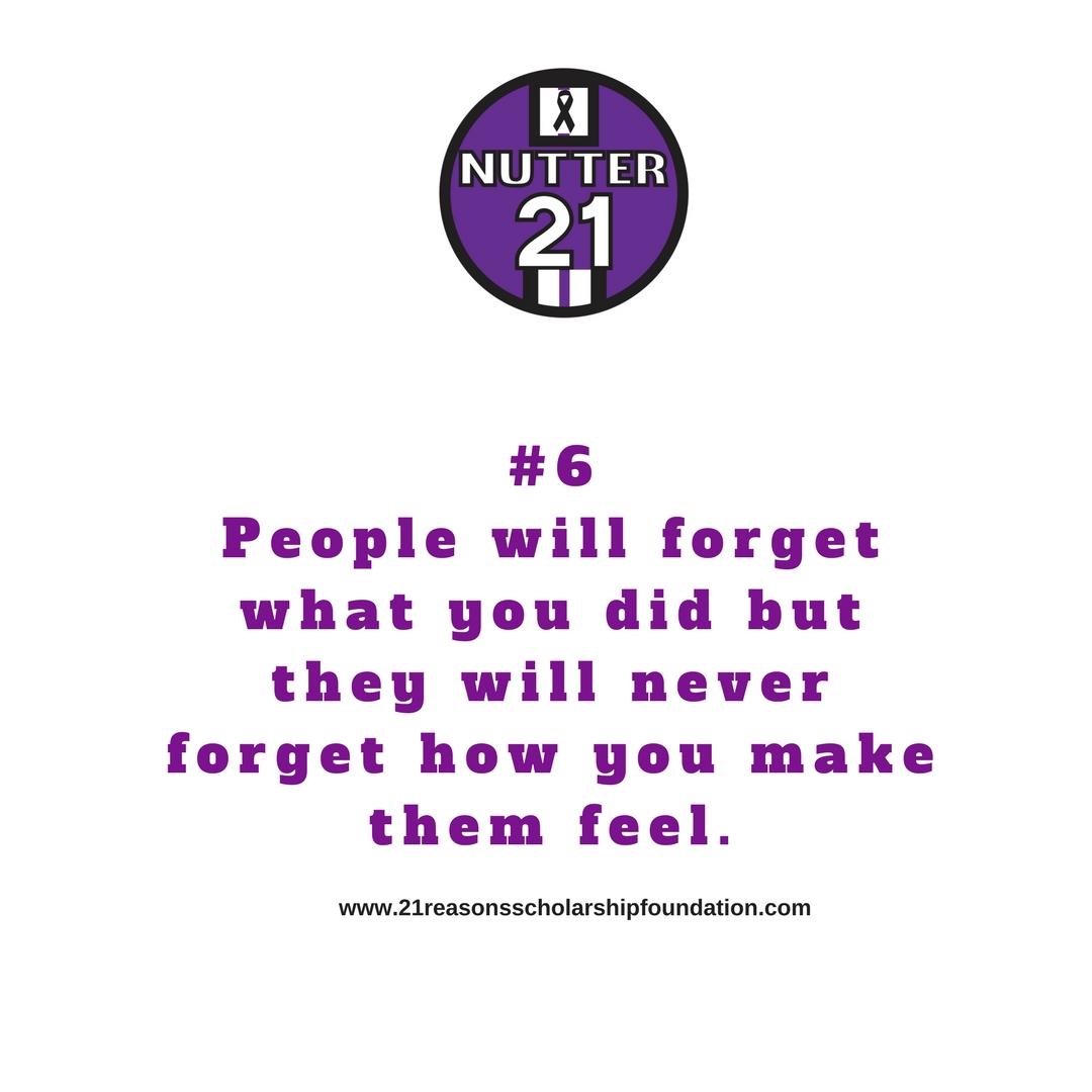 21Reasons # 6