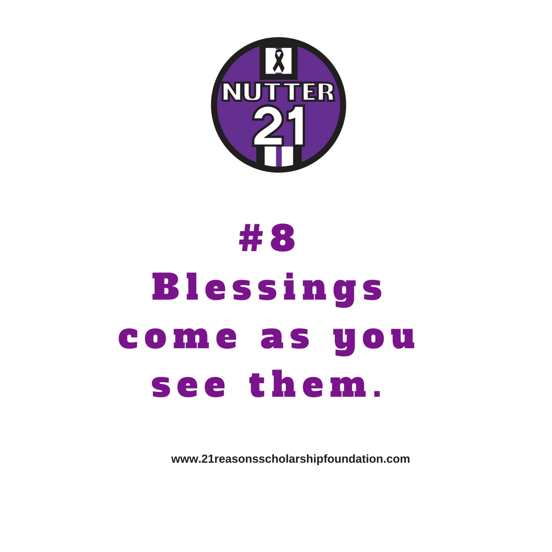 21Reasons # 8