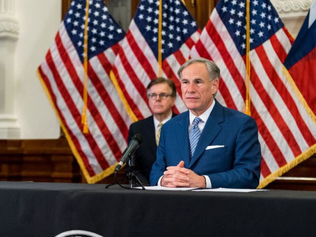 Governor Abbott begins the process of reopening Texas