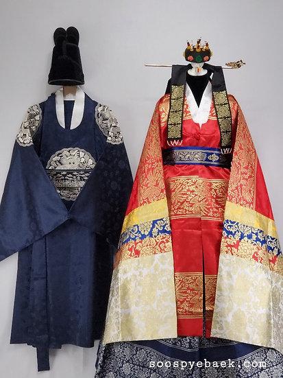 Pyebaek Garments with Men's Navy Blue