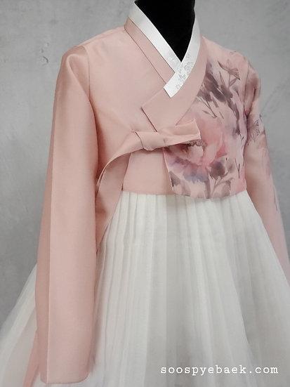 Light Pink Floral Set