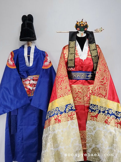 Pyebaek Garments with Men's Royal Blue