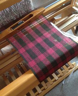 Rosie Price's Bourette silk scarf