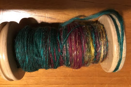 Louisa's spun fibre