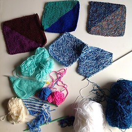 Rosie Price gets busy with yarn bombs