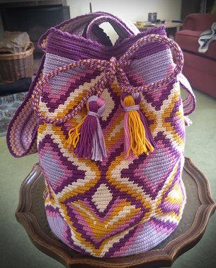Stefanie's crochet mochila
