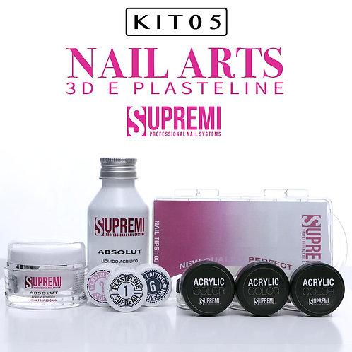 KIT 5 - Para curso Nail Arts