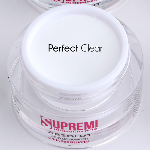 Pó Acrílico Supremi -PERFECT CLEAR
