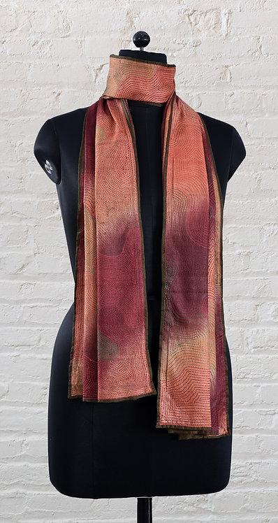Kantha Scarf: Tie & Dye / 243