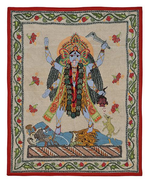 Kantha StitchArt: Ma Kali