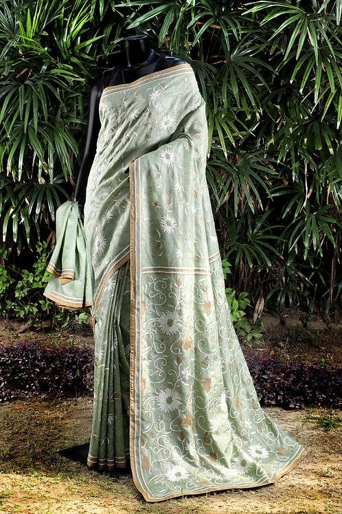 Kantha Tussar Saree: 149
