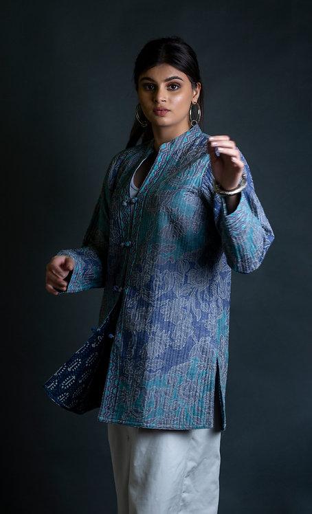 Kantha Reversible Jacket / 033