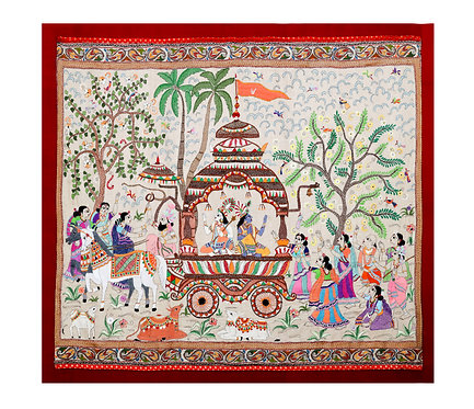 Kantha StitchArt: KrishnaBalram