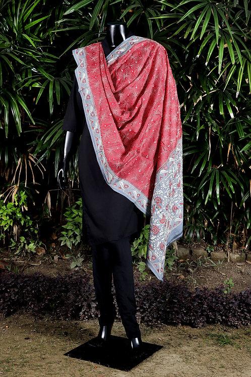 Kantha Tussar Dupatta: 152