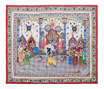 Kantha StitchArt: Sita Swayamvar/ 022