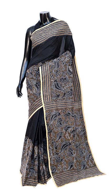 Kantha Silk Saree: 119