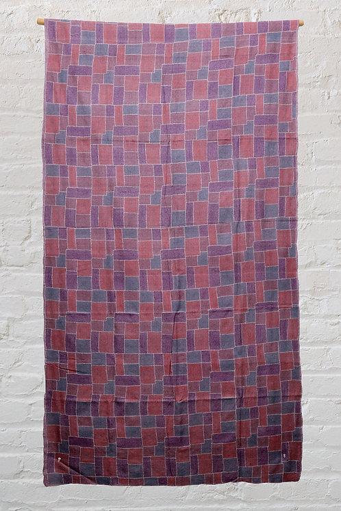 Kantha fabric: Rectangle Box
