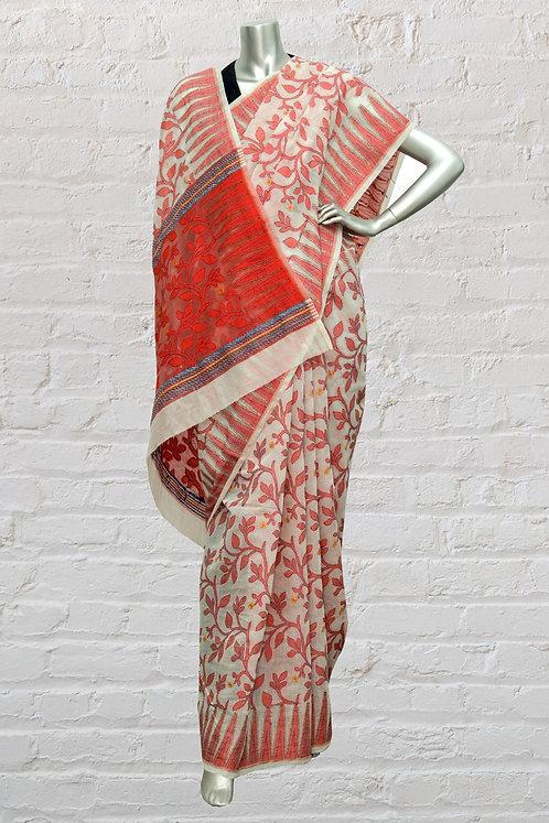 Kantha Cotton Saree: 135