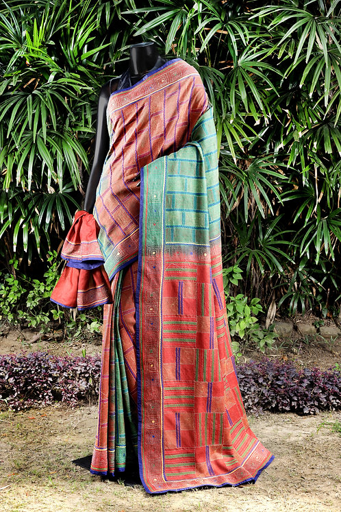 Kantha Tussar Saree: 148