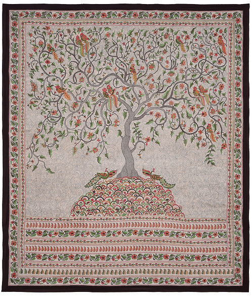 Kantha StitchArt: Tree of Life