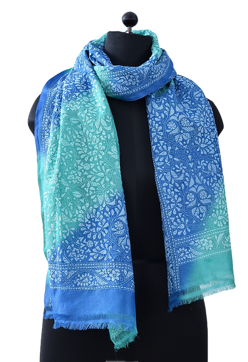 Kantha Scarf: Tie and Dye (119)