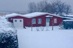 Ferienhaus Lützen auf Amru im Winter