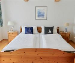 Ferienhaus Wattblick - Schlafzimmer