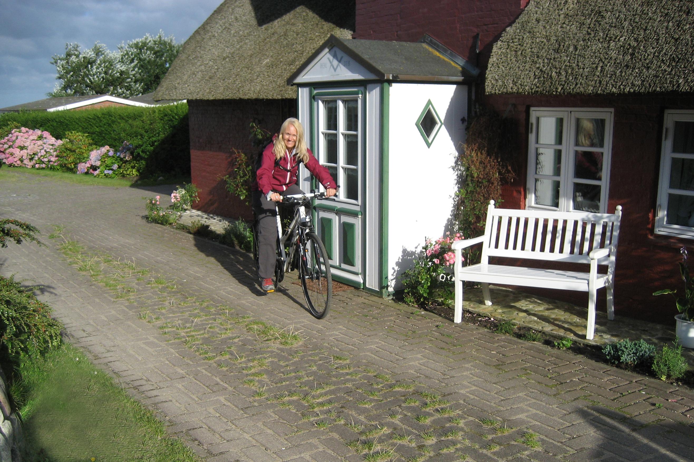 Fahrradfahren auf Amrum