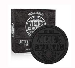 Viking Revolution Activated Charcoal Soap