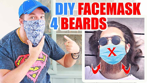 DIY Face Mask for Beards Free Pattern.jp