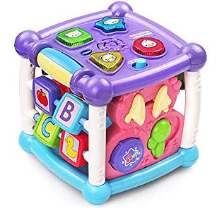 VTech Busy Learners Activity Cube, Purpl