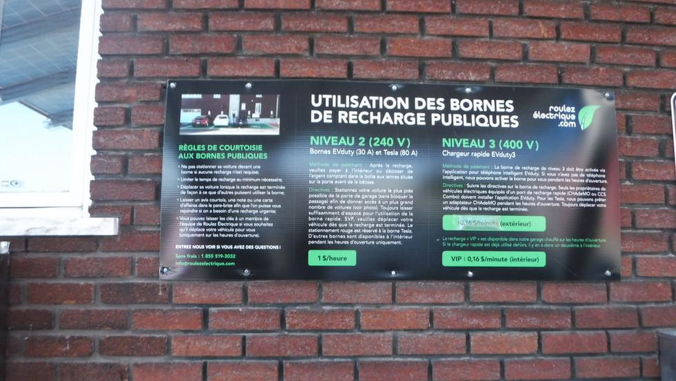 STATION ROULEZ ÉLECTRIQUE 519, rue des Volontaires, Trois-Rivières
