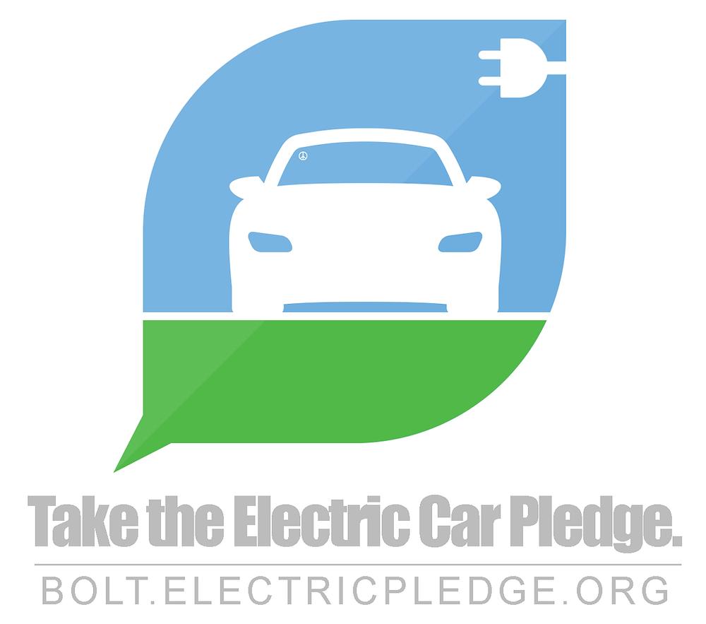 Take the electric car pledge