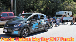 Pender Harbour May Day 2017 Parade