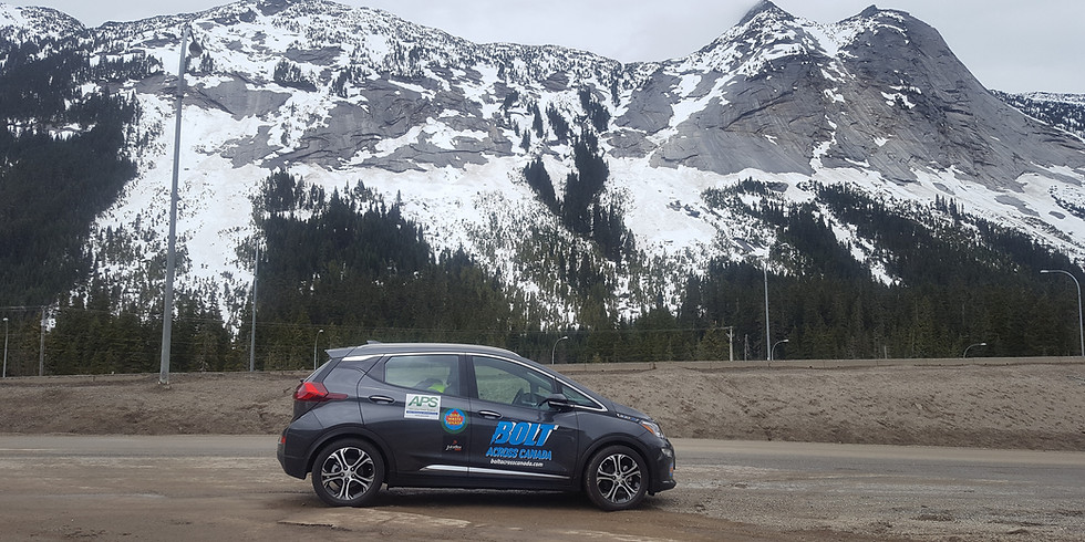 July 1 : Bolt Across Canada launch