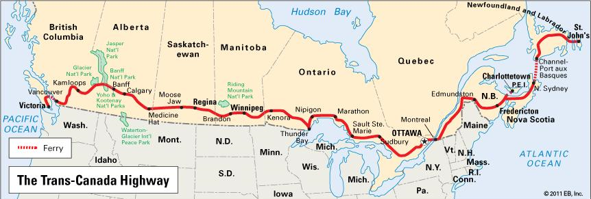 Trans- Canada Highway