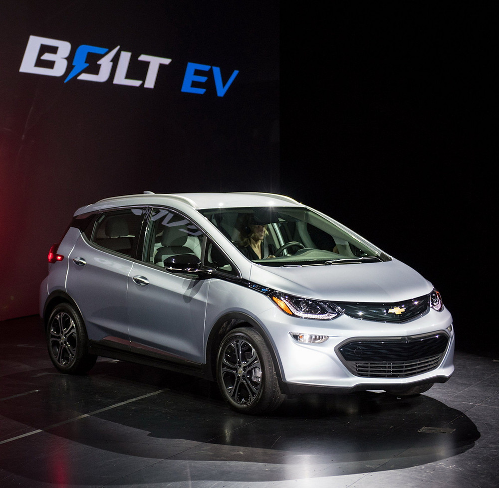The 2017 All-electric Bolt