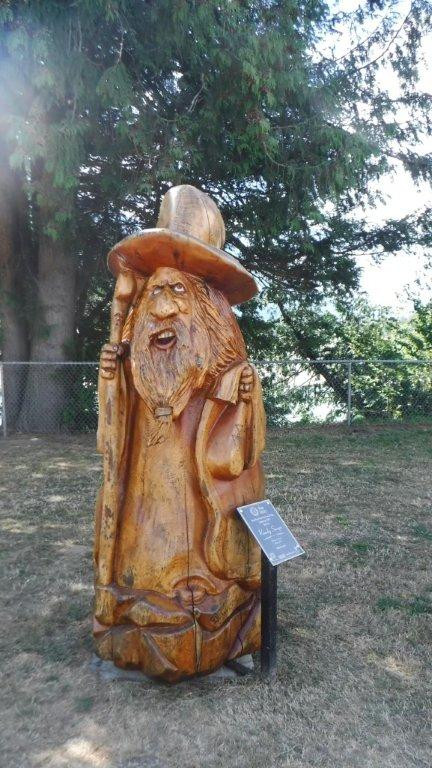 chain saw wizard in Hope BC
