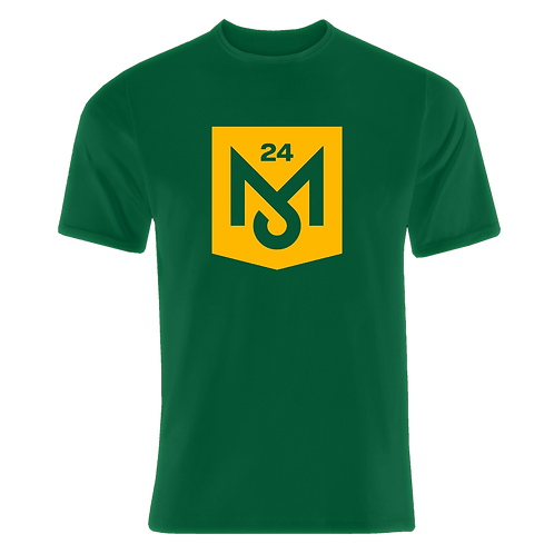 Green T-Shirt (Yellow Logo)