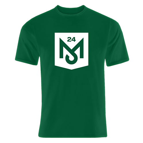 Green T-Shirt (White Logo)