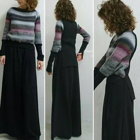 ドレッシーなセーター/着用
