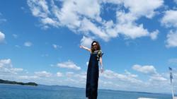 小豆島の海と空