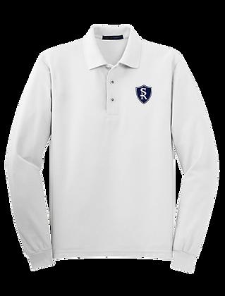 St Rose Long Sleeve Polo