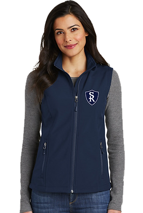 St Rose Ladies Soft Shell Vest (Black or Navy)